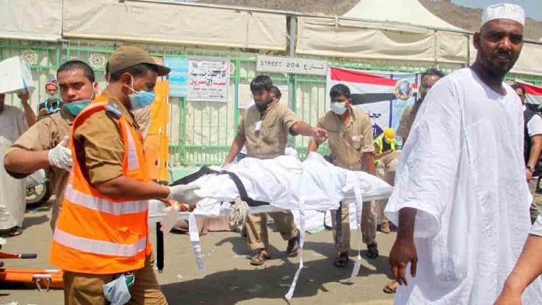 """مصر ترفع ضحاياها بـ""""تدافع الحجاج"""" لـ181 وفاة و53 مازالوا مفقودين و6 يعودون من الموت"""