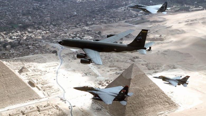 """مصر تعلن نهاية أكتوبر موعداً لاستلام 4 مقاتلات """"إف – 16"""" من الولايات المتحدة"""