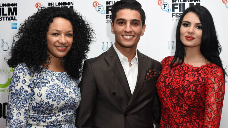 كانيا الملك، محمد عساف ولينا قيشاوي في مهرجان لندن السينمائي