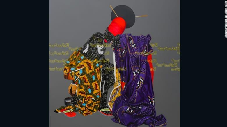 الشباب الجنس والجسد.. أعمال فنية تعكس الفن الأفريقي المعاصر