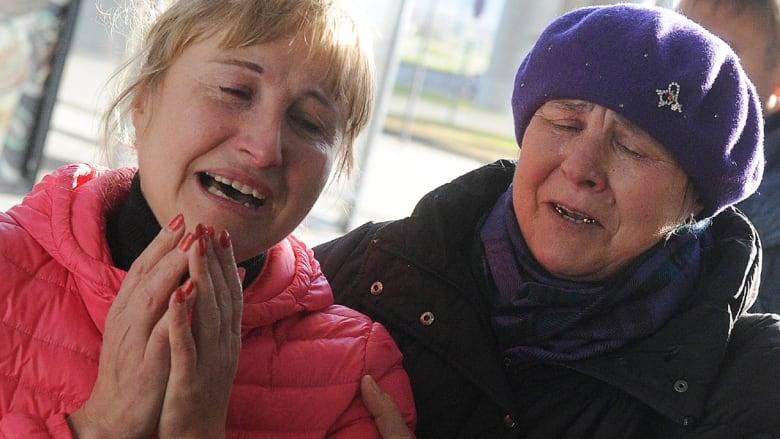 ردود فعل أهالي ركاب الطائرة الروسية المنكوبة في سيناء