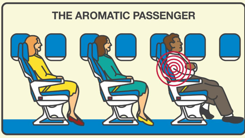 ما هي تصرفات الركاب الأكثر إزعاجاً على متن الطائرة؟