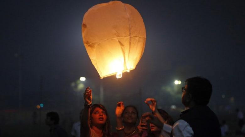 """مهرجان """"ديوالي""""..عندما تنير الأضواء الظلام وينتصر الخير على الشر"""