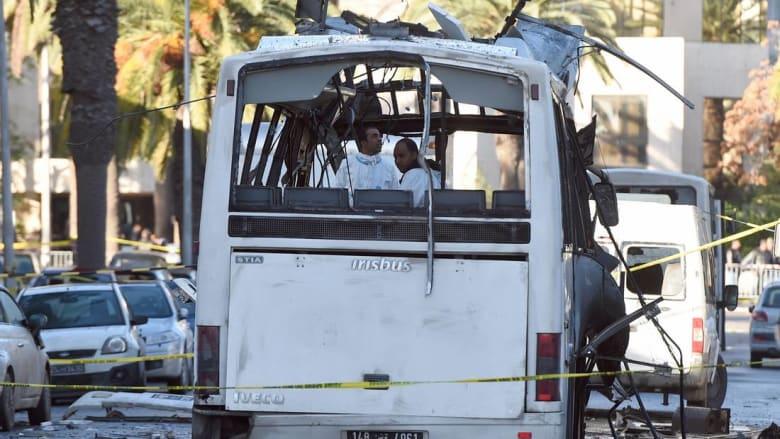 الداخلية التونسية تتعرّف على هوية منفذ تفجير حافلة الأمن الرئاسي