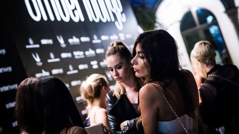 لقطة من الحفل الذي نظمته Amber Lounge