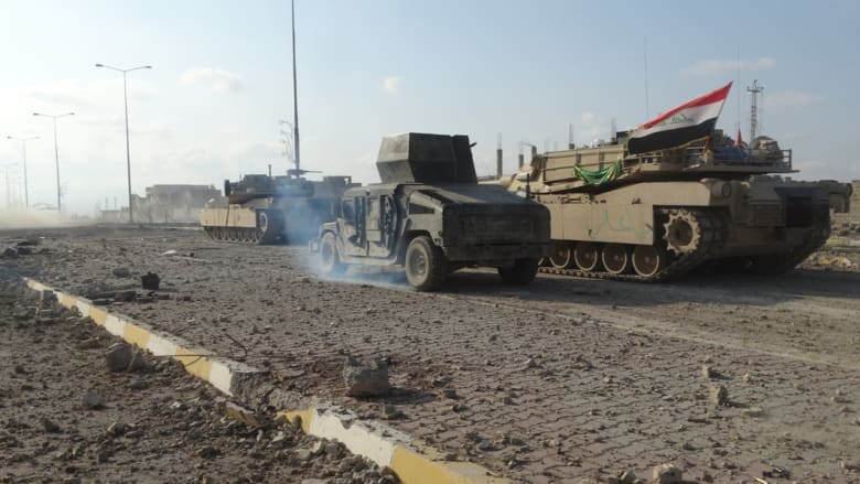بالصور.. فرق مكافحة الإرهاب العراقية والعمليات ضد داعش في الرمادي