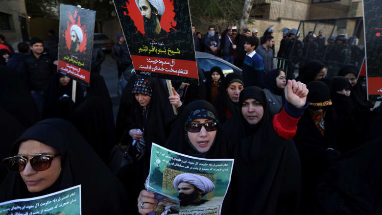 """الخارجية الإيرانية: إعدام النمر يأتي في إطار سياسات إذكاء الفتنة.. ورفسنجاني: """"غرور"""" السعوديين خطأ تاريخي"""