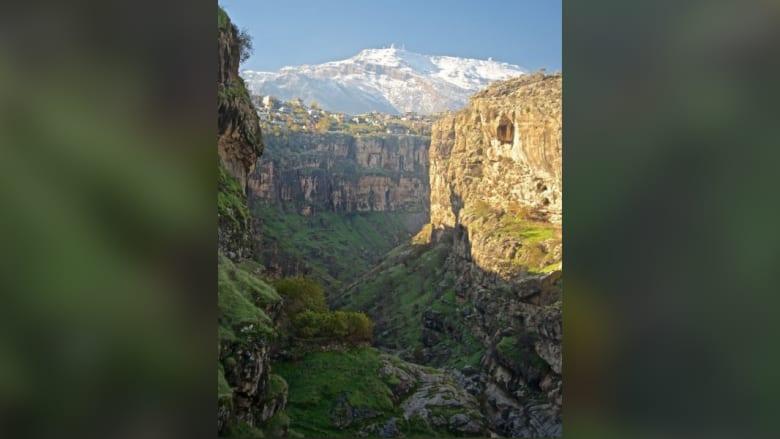 جبل كورك بمحافظة أربيل في إقليم كردستان العراق