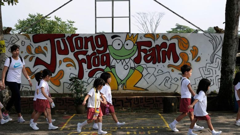 """مزارع سنغافورة السرية توفر """"نكهة"""" سياحية جديدة"""