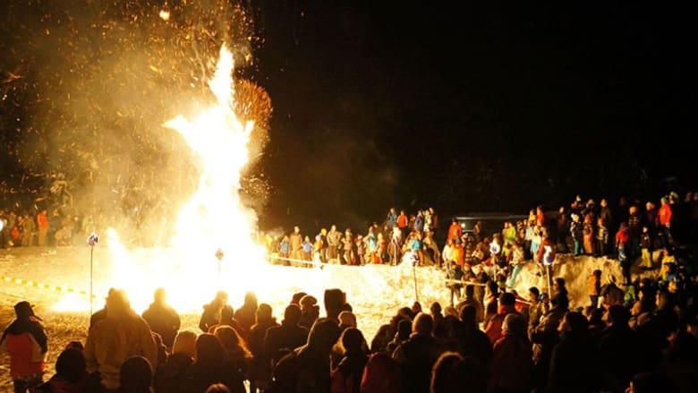 """مهرجان """"هوم ستروم"""" الوثني.. هل يضحي السويسريون بأحد أفرادهم خلاله؟"""