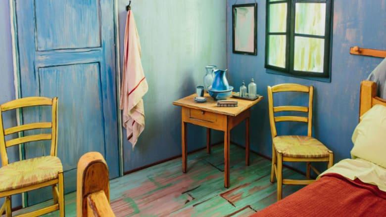 """غرفة نوم الرسام الشهير فان غوخ... للأجرة على موقع """"Airbnb"""""""