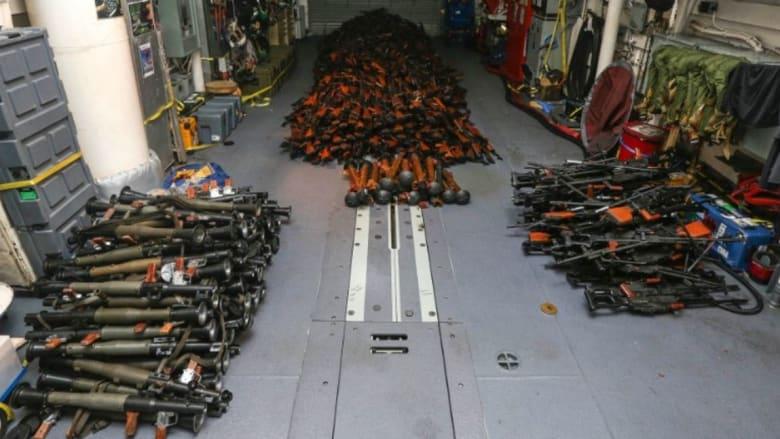 أستراليا: ضبط آلاف الأسلحة يُشتبه بإرسالها من إيران إلى الحوثيين