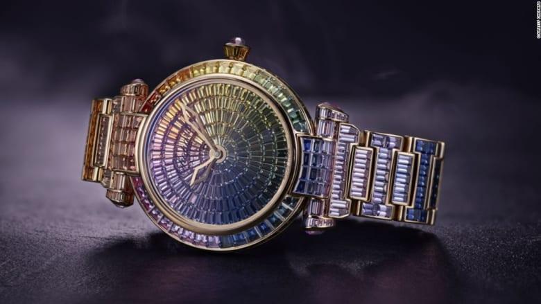 """شاهد أثمن ساعات في العالم... بجمال """"يوقف الزمن"""""""