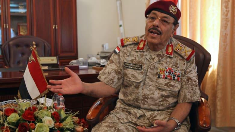 اليمن: هادي يقرر إقالة بحاح وتعيين علي محسن الأحمر نائبا للرئيس وأحمد بن دغر رئيسا للوزراء