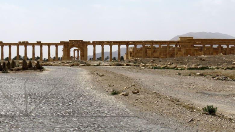 """بالصور.. مشاهد من مدينة تدمر الأثرية بعد انسحاب """"داعش"""" منها"""