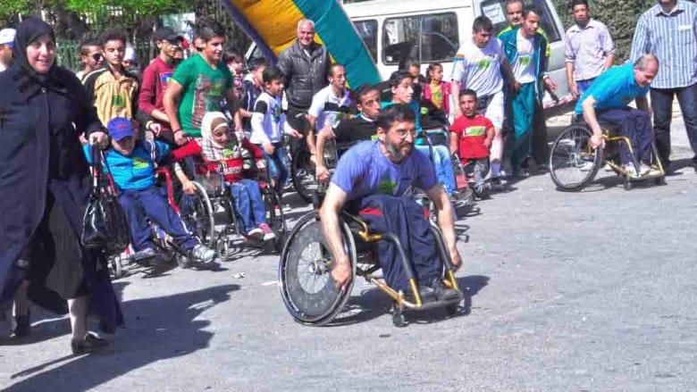 بالصور.. أرجل السوريين تسابق الريح.. هكذا بدت أجواء سباق الماراثون الثاني في دمشق