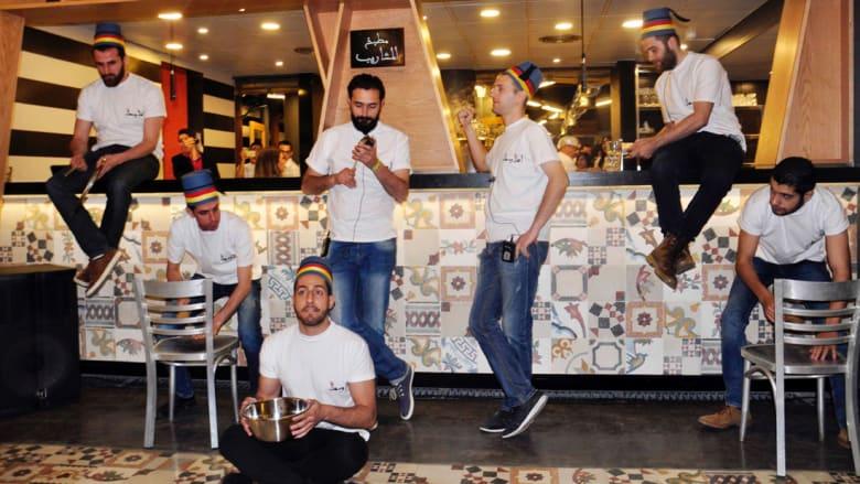 مقهى المكتب في دمشق سوريا