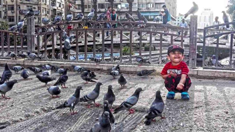 """بالصور في ذكرى 6 مايو.. """"المرجة"""" في دمشق ساحة """"الشهداء"""" والانتظار"""
