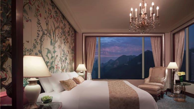 أجمل مشاهد هونغ كونع من أعلى فنادقها