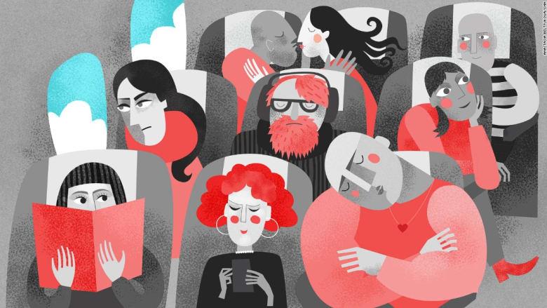 اكتشف الأسرار الخفية للمسافرين الجالسين بجانبك