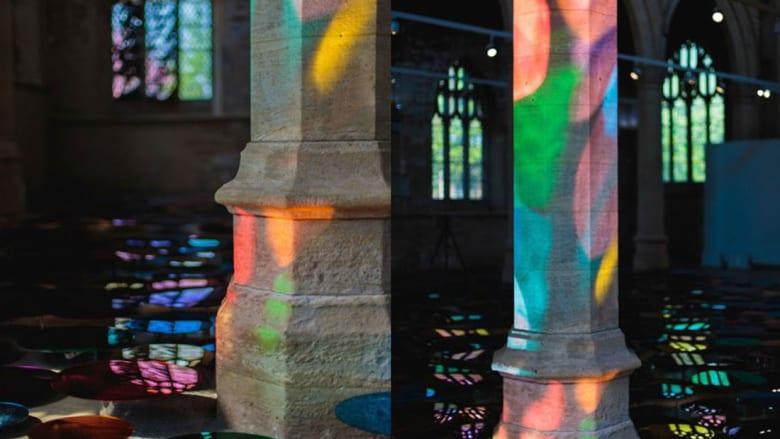 """هل هذه أضواء ديسكو؟ انظر مجدداً لتكتشف قصة هذه الكنيسة """"الحالمة"""""""