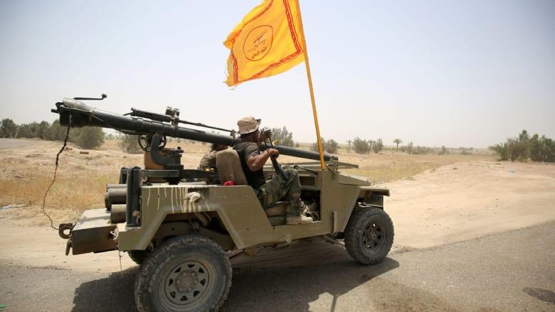 """كتائب """"حزب الله"""" العراقي تتولى """"إسناد مدفعي وصاروخي"""" لمحاور الفلوجة واتهام لداعش بإخفاء جثث قتلاه"""
