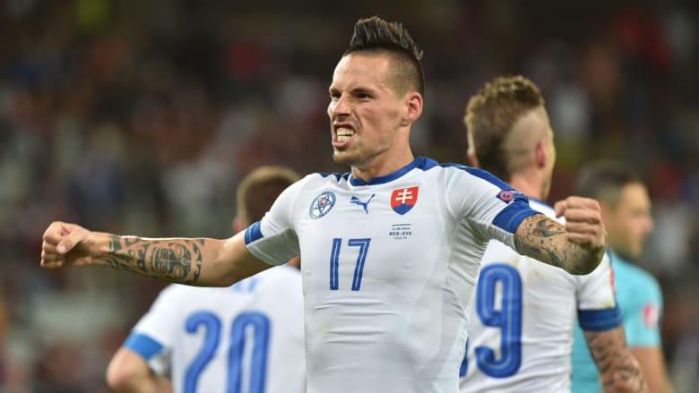 سلوفاكيا تهزم روسيا وتحقق فوزها الأول في اليورو