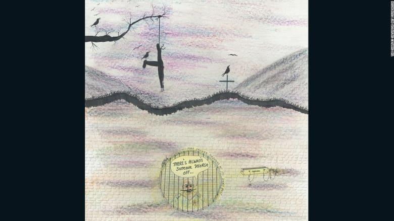 أعمال فنية تخرج من السجن الانفرادي لتباع في مزادات خيرية!