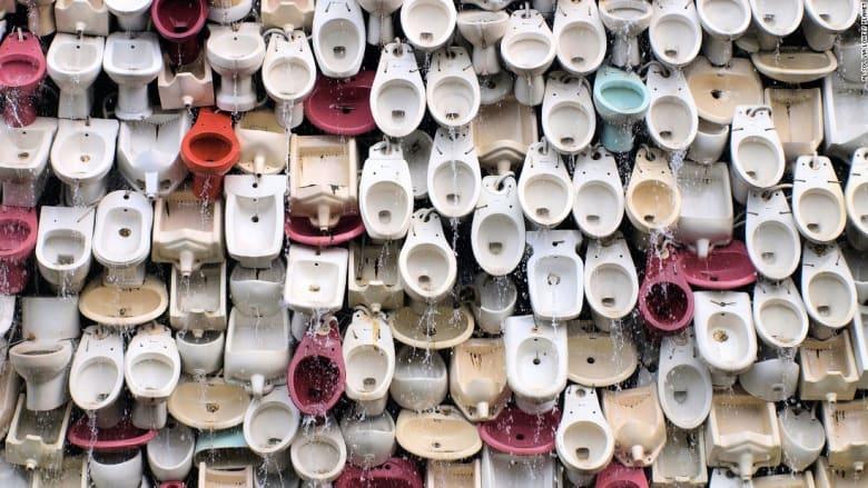 أغرب الحمامات حول العالم بأماكن لا يتوقعها أحد