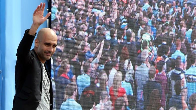 بالصور: السيتي يستقبل غوارديولا وسط حضور جماهيري غفير