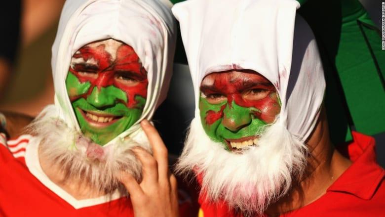 بالصور: حماس المشجعين من حول العالم بمدرجات يورو 2016