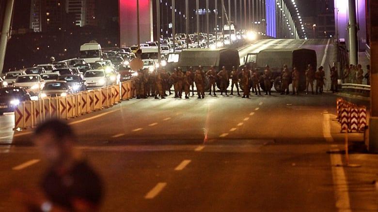 المشاهد الأولى من محاولة الإنقلاب في تركيا