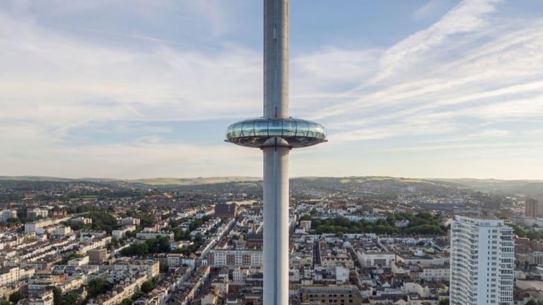 مدينة برايتون تنافس لندن وتفتتح أطول برج مراقبة في العالم