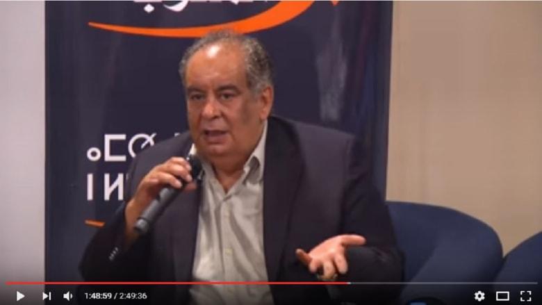 تدخين سيجارة يسبّب موقفا محرجا ليوسف زيدان في ندوة بالمغرب