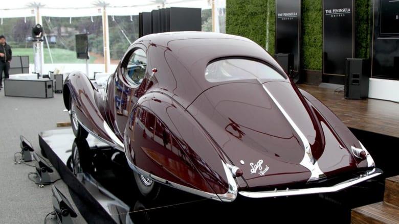 """هل هذه السيارة الكلاسيكية """"الأكثر استثنائية"""" في العالم؟"""