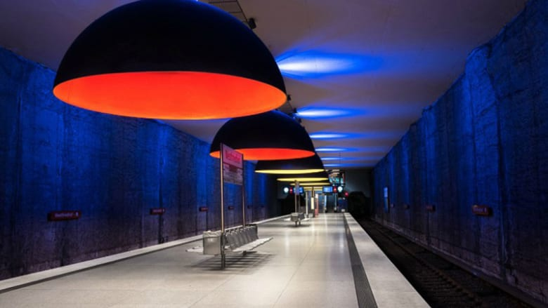 ماذا يحدث عندما تفرغ محطات القطار من الناس؟