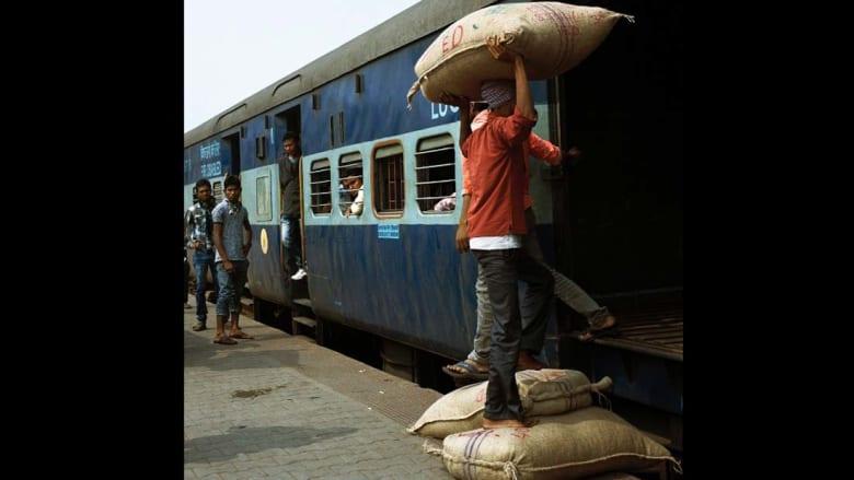ما الصورة الأكثر انتشاراً في قطارات الهند؟