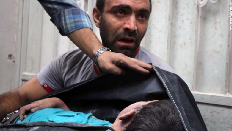 صور مفجعة لآثار قصف حلب المكثف الذي خلّف 85 قتيلا و300 جريح على الأقل