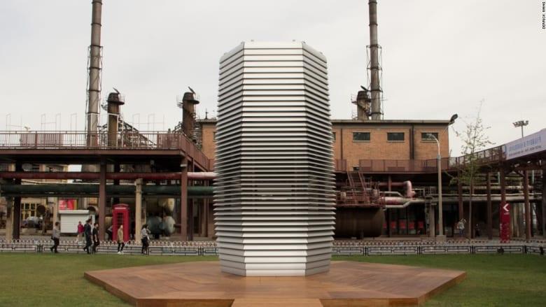 في الصين.. برج يحوّل التلوّث إلى مجوهرات!