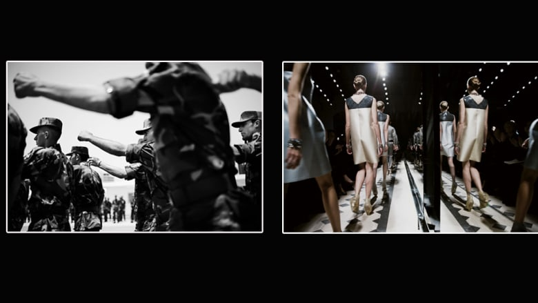 """ما الذي يجمع بين """"انتفاضة"""" غزة وعارضة أزياء؟"""
