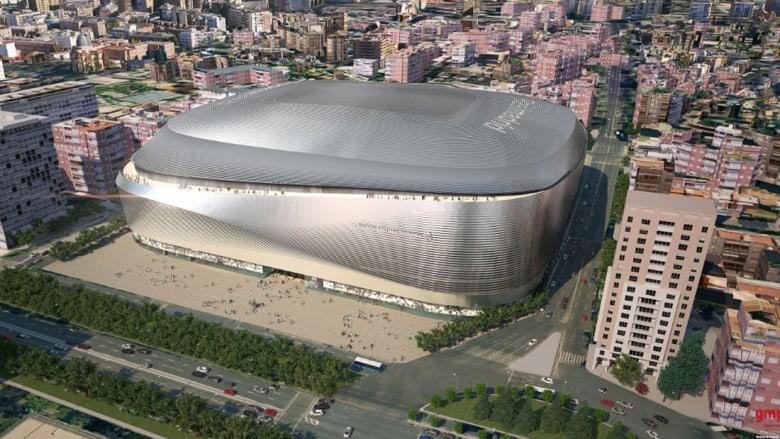 """440 مليون دولار.. لترميم """"موطن"""" فريق ريال مدريد الأيقوني"""