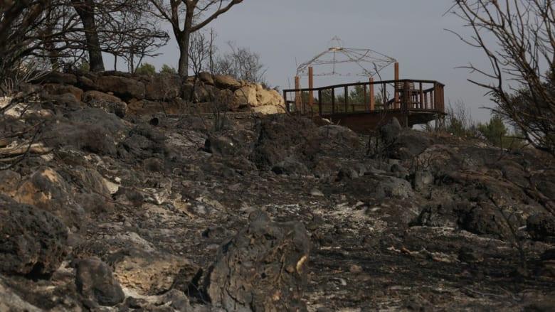 حرائق اسرائيل هي الأكثر خطورة منذ عام 2010 بعد صيف جاف جداً