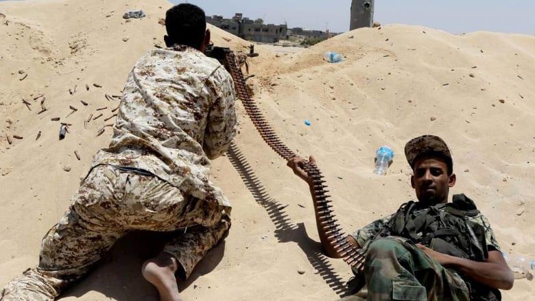 """البنيان المرصوص تعلن وقوع """"انهيار تام"""" بين مقاتلي داعش في سرت"""