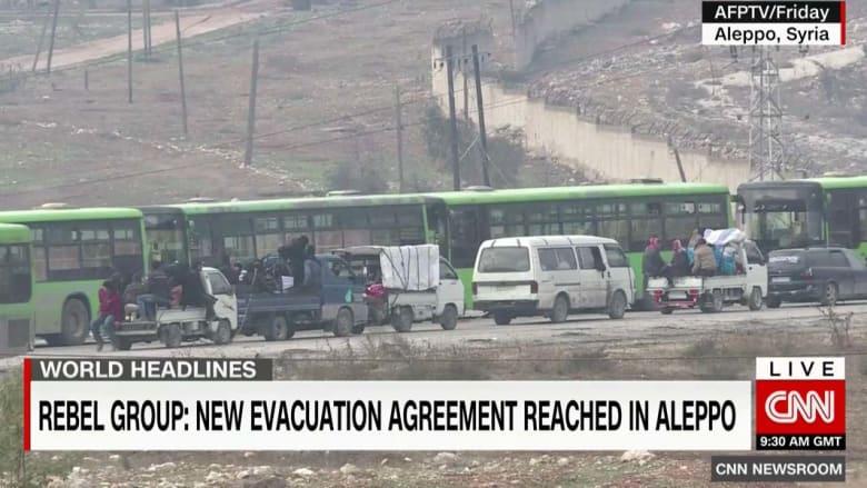 أحرار الشام: التوصل لاتفاق مع روسيا حول عمليات الإجلاء بحلب