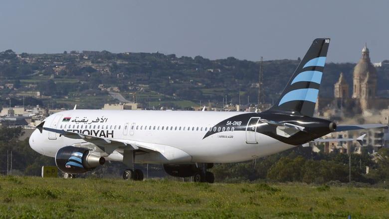 اختطاف طائرة ليبية إلى مالطا.. وتهديد بتفجيرها