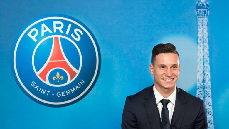 باريس سان جيرمان يستقبل 2017 بالتعاقد مع دراكسلر
