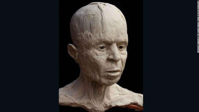 """تمكن علماء الآثار من إحياء وجه """"جمجمة أريحا"""" بعد 9500 عام بالطباعة ثلاثية الأبعاد"""