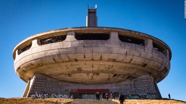 """جسم """"فضائي"""" سوفيتي مهجور في بلغاريا.. ما هي قصته؟"""