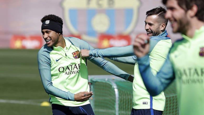 كيف ظهر لاعبو برشلونة بعد ساعات من معجزة الأبطال؟