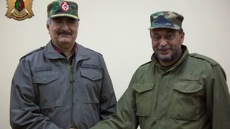 حفتر يعلن تحرير الهلال النفطي من سرايا الدفاع وحرس المنشآت